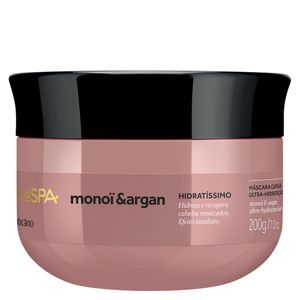 Nativa Spa Monoï & Argan Máscara Capilar, 200G