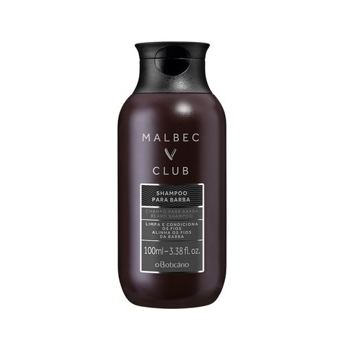 Malbec Club Shampoo Para Barba, 100ml