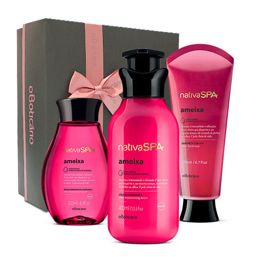 Kit Presente Nativa Spa Trio Ameixa